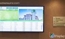 Digital Signage at Holiday Inn, Calgary International Airport by E Display Inc.