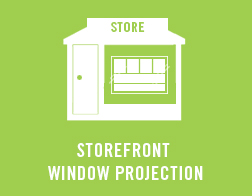 Storefront Window projection