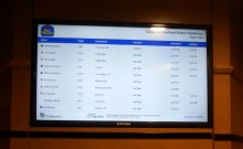 Flight Info Digital Signage Best Western